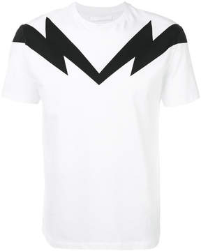 Neil Barrett maxi bolt 2 bolt T-shirt