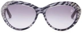 Swarovski Women's Zebra Cat Eye Sunglasses