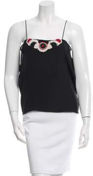 Vanessa Bruno Silk Sleeveless Top