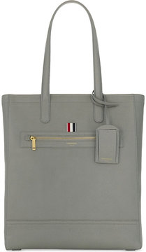 Thom Browne Pebbled leather tote