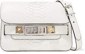 Proenza Schouler Ps11 Mini Classic Python Shoulder Bag