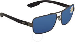 Costa del Mar North Turn Rectangular Sunglasses NTN 22 OBMP