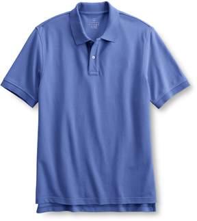 Lands' End Lands'end Men's Short Sleeve Tailored Banded Mesh Polo Shirt