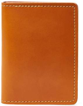 Filson Men's Handcrafted Leather Passport & Card Case