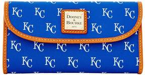 Dooney & Bourke MLB Royals Continental Clutch - ROYALS - STYLE