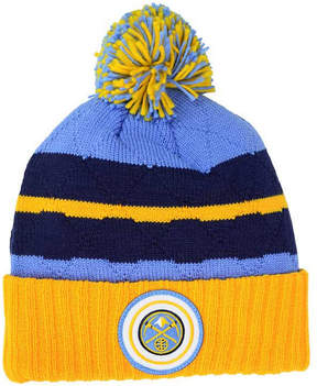 Mitchell & Ness Denver Nuggets Quilted Hi Five Knit Hat