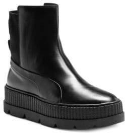 Puma FENTY x Rihanna Leather Chelsea Sneaker Boots