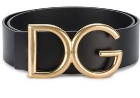 Dolce & Gabbana Dolce E Gabbana Men's Black Leather Belt.