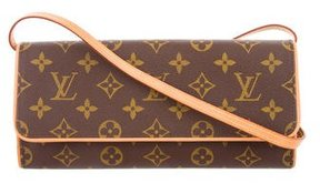 Louis Vuitton Monogram Pochette Twin GM - BROWN - STYLE