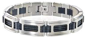 Armani Exchange Jewelry Mens Bracelet In Stainless Steel