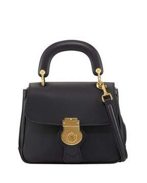 Burberry Trench Small Leather Top Handle Bag, Black - BLACK - STYLE