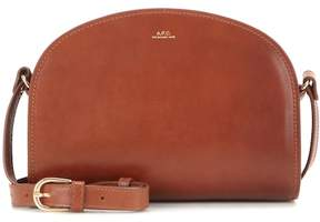 A.P.C. Demi-Lune leather shoulder bag