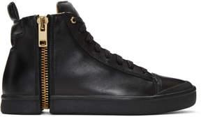 Diesel Black S-Nentish High-Top Sneakers