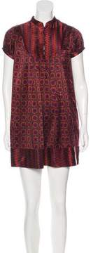 Calypso Printed Silk Dress