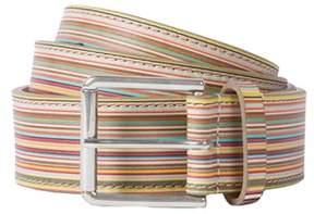 Paul Smith Men's Multicolor Leather Belt.