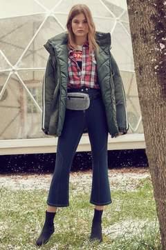 BDG Kick Flare High-Rise Cropped Jean – Modern Zip