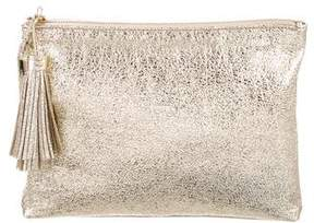 Loeffler Randall Metallic Zip Pouch