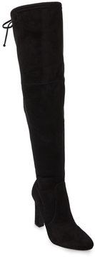 Unisa Black Sereen Over The Knee Boots