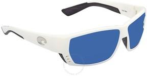 Costa del Mar Tuna Alley Large Fit Blue Mirror Sunglasses TA 25 OBMP