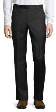 Black & Brown Black Brown Classic Wool Pants
