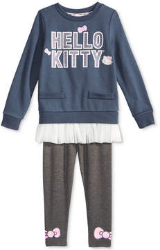 Hello Kitty 2-Pc. Ruffle-Trim Tunic & Leggings Set, Toddler Girls (2T-5T)