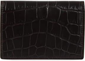 Smythson Mara leather card case