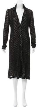 Alessandro Dell'Acqua Crochet Midi Dress