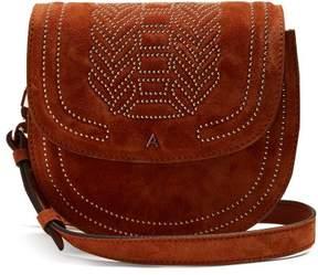 Altuzarra Ghianda Mini Stud Embellished Leather Bag - Womens - Brown