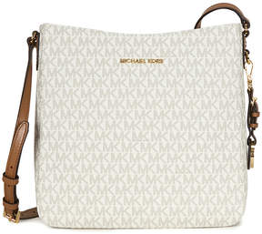 Michael Kors Jet Set Travel Large Logo Messenger - Vanilla - ONE COLOR - STYLE