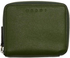 Marni Green Zip Wallet