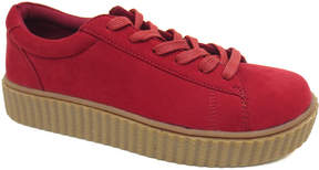 Bamboo Red & Tan Stealthy Sneaker