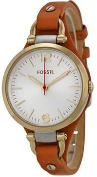 Fossil Georgia ES3565 Women's Stainless Steel Analog Watch