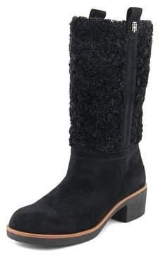 Tommy Hilfiger Ynez Women US 8.5 Black Mid Calf Boot
