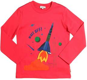 Paul Smith Rocket Printed Cotton Jersey T-Shirt