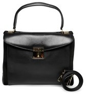 Marc Jacobs Women¿s Leather ¿metropolitan¿ Shoulder Handbag Black. - BLACK - STYLE