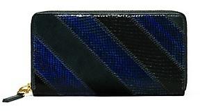 Tory Burch Gemini Link Snake Zip Continental Wallet