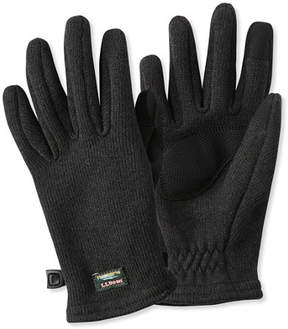 L.L. Bean L.L.Bean Sweater Fleece Gloves, Women's