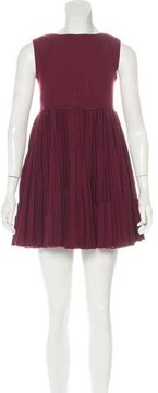Alaia Fit and Flare Dress
