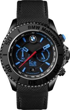 Ice BMW Motorsport Black Dial Men's Chronograph 53 mm Watch
