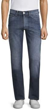 Canali Cross Weave Cotton Jeans