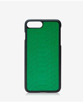 GiGi New York Iphone 7 Plus HardShell Case In Jade Embossed Python