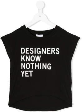 DKNY designer print T-shirt