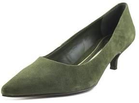 Lauren Ralph Lauren Abbot Women US 7.5 Green Heels