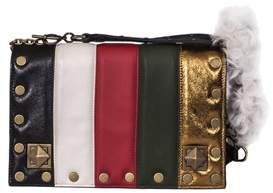 Sonia Rykiel Women's Multicolor Leather Shoulder Bag.