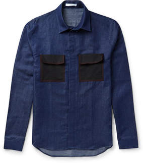 J.W.Anderson Contrast Pocket Denim Shirt