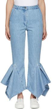 Edit Blue Godet Boy Jeans