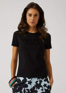 Emporio Armani T-Shirt With Embroidered Logo