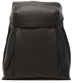 Loewe T Small Backpack in Black.