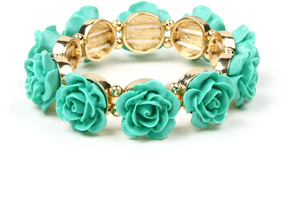 Amrita Singh Women's Rose Stretch Bracelet