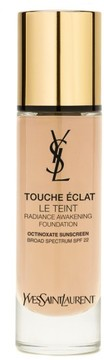 Yves Saint Laurent Touche Eclat Le Teint Radiance Awakening Foundation Spf 22 - B10 Porcelain